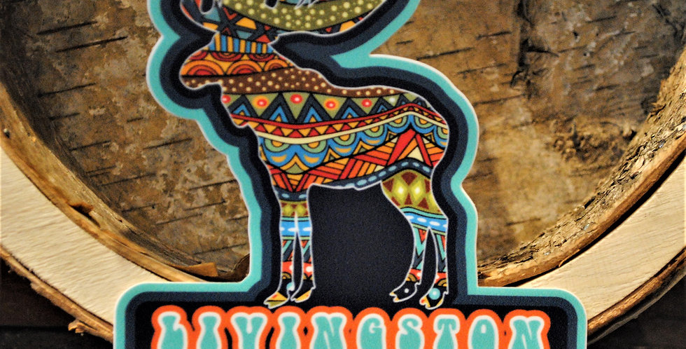 Sticker - Livngston Moose