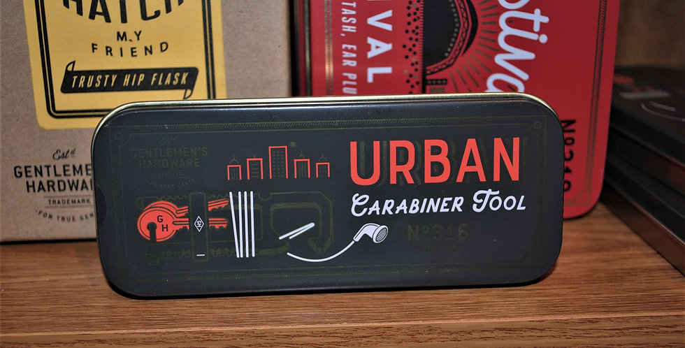 Urban caribiner tool