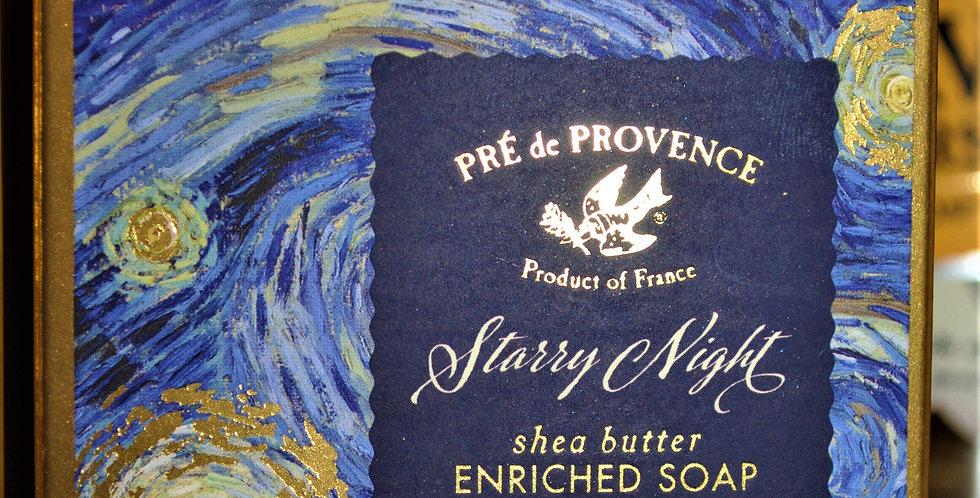 Shea butter bar soap - Starry night