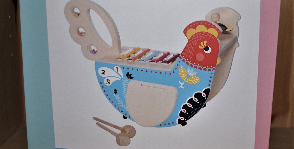 Rocking musical chicken