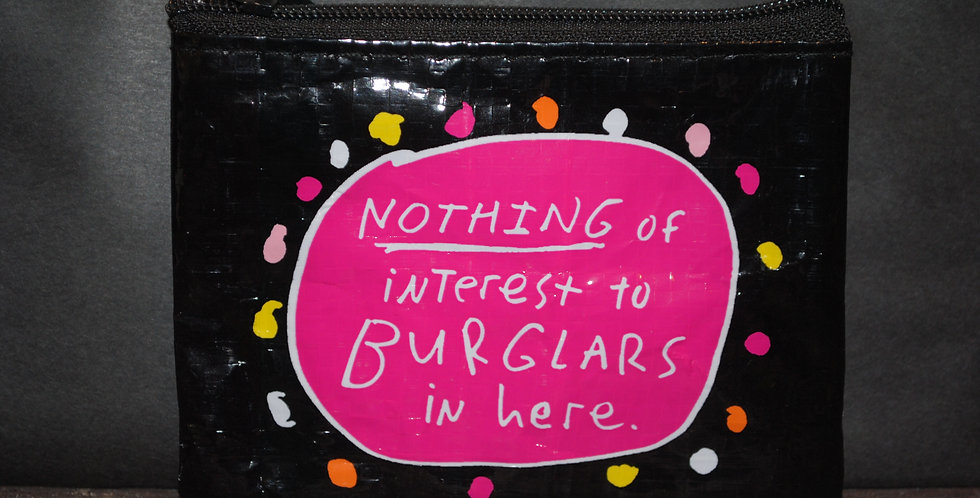 Coin purse - Nothing of interest to BURGLARS in here