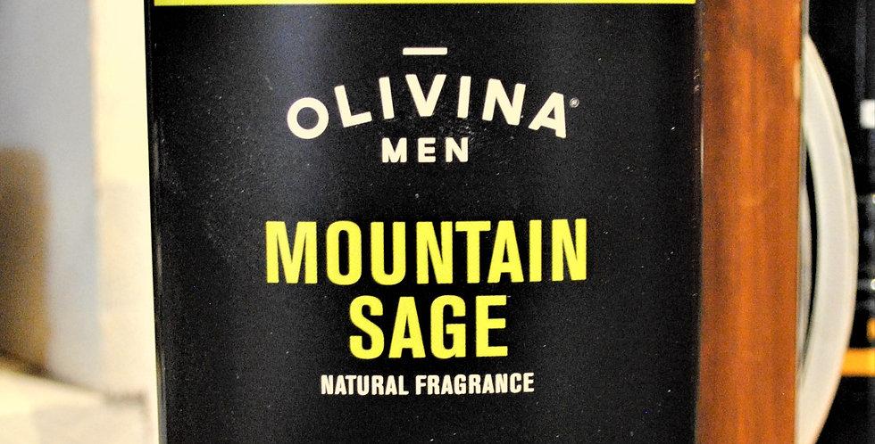 Deodorant mountain sage