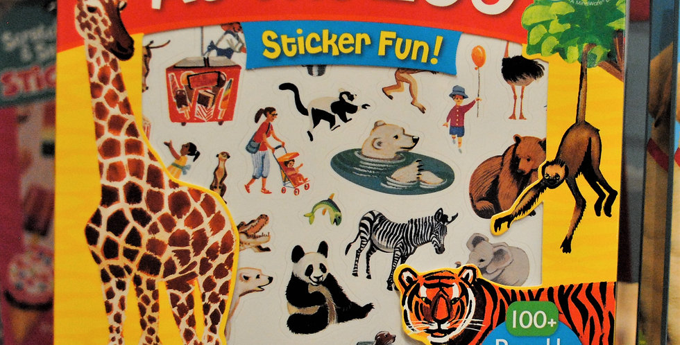 Sticker fun - At the zoo