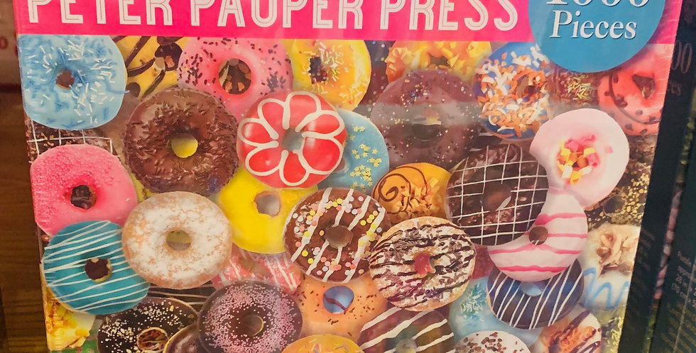 Puzzle -  Donuts