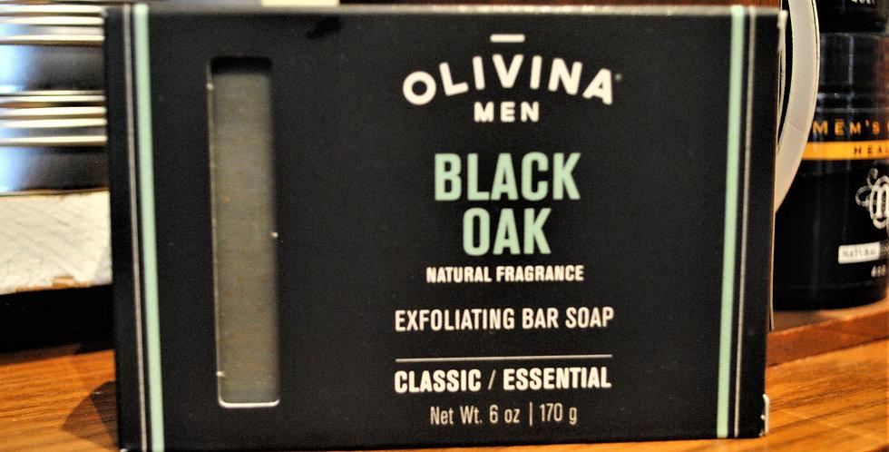 Bar soap Black oak