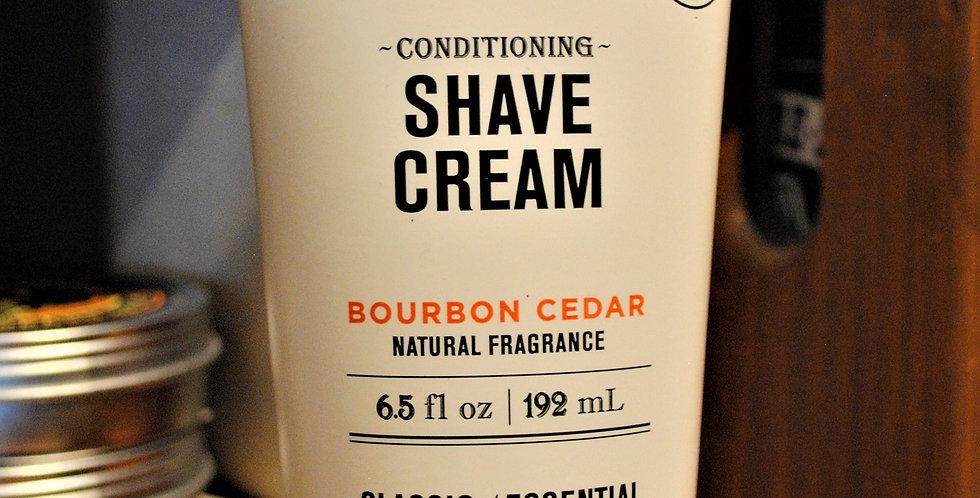 Conditioning shave cream
