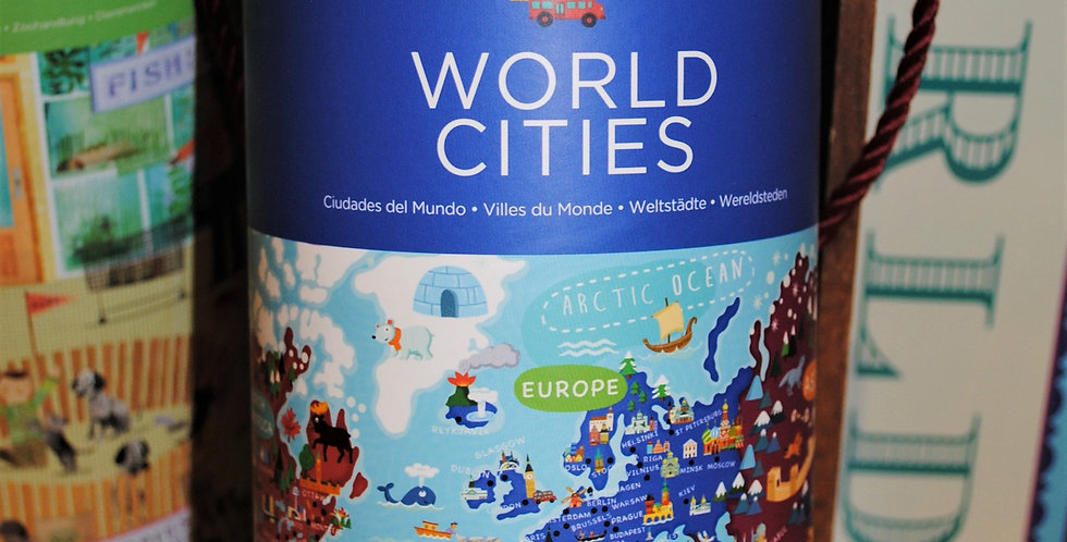 Puzzle - World Cities