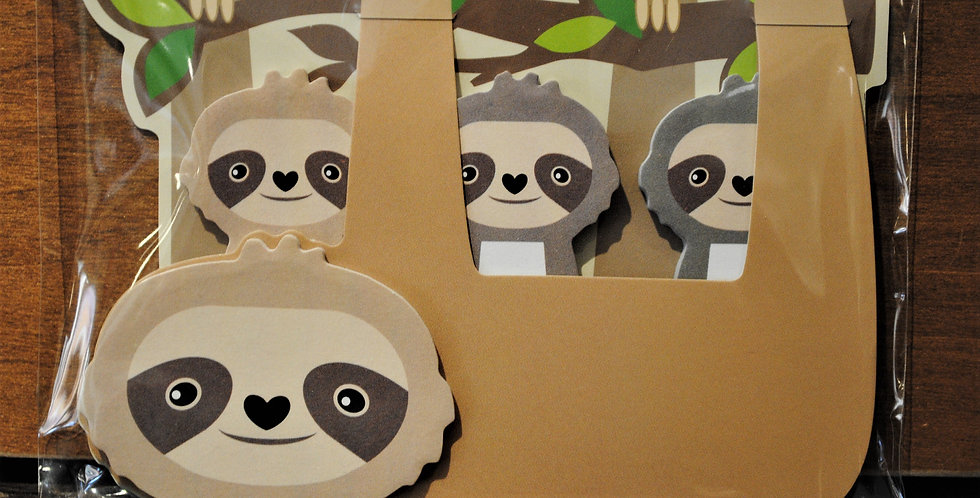 Memo tabs - Sloth
