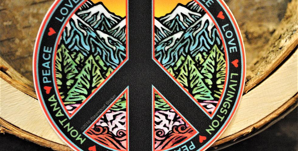 Sticker - Livingston Peace