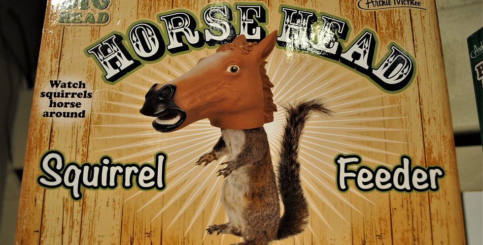 Horse head feeder