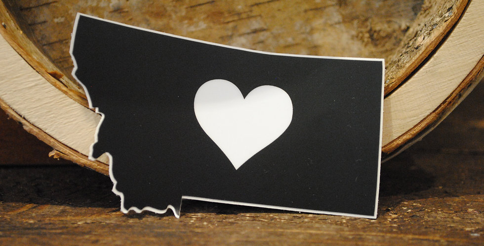 Stickers - Heart Montana