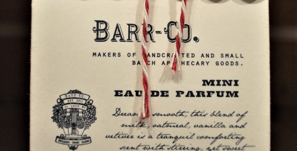Barr Co Mini Eau de Parfum