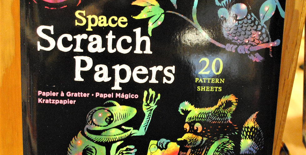 Scratch papers - Space