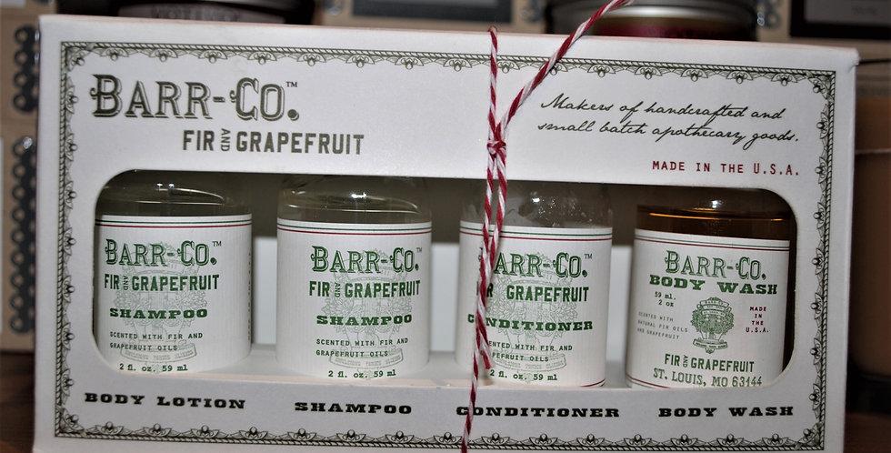 Gift / Travel set - Fir & Grapefruit