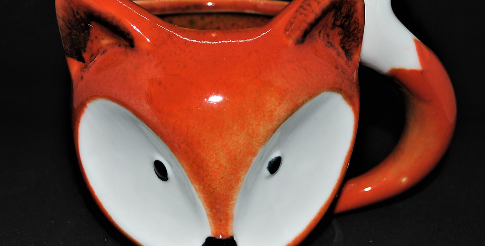 Fox ceramic mug