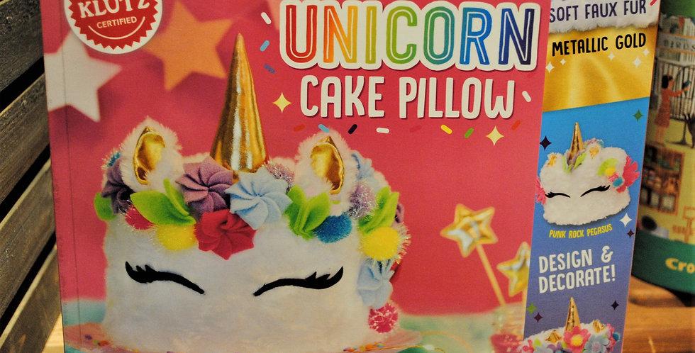 Unicorn Cake Pillow