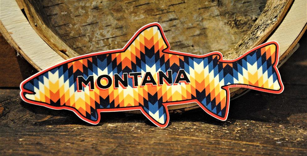 Sticker - Montana fish