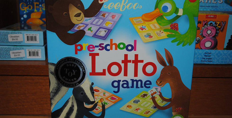 Pre-school Lotto game
