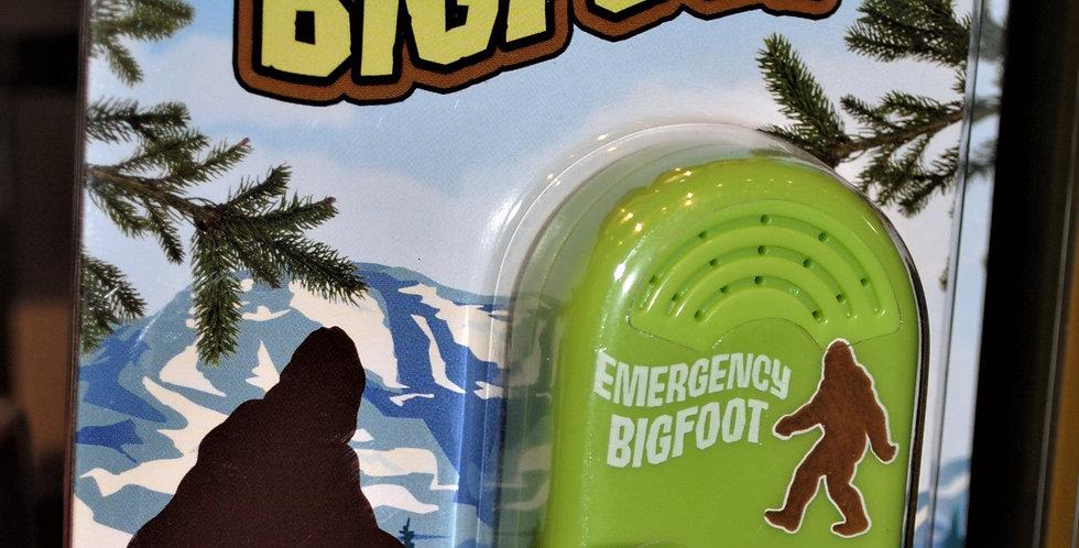 Emnergency bigfoot
