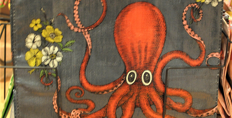 Shopping tote - Octopus