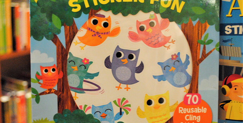 Sticker fun -  Happy Owls