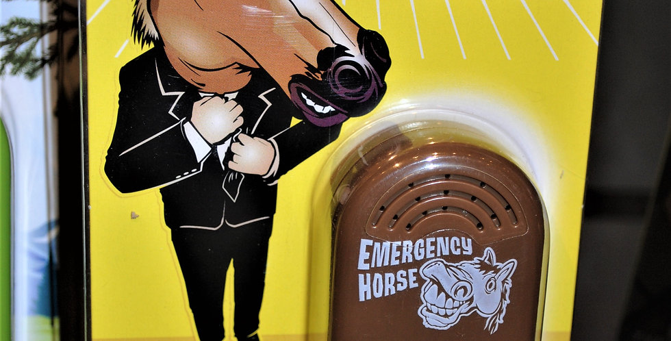 Emergency horse