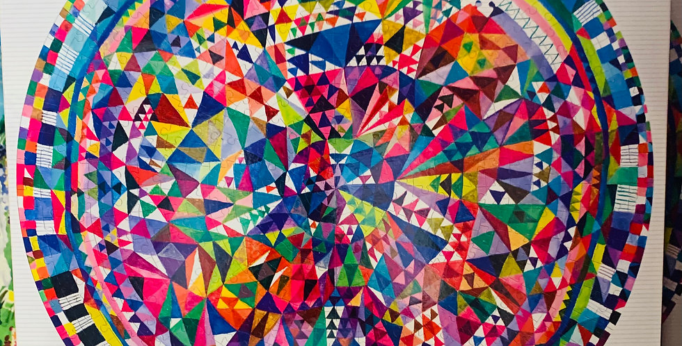 Puzzle - Triangle pattern
