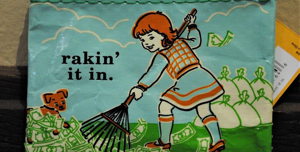 Coin purse - rakin' it in