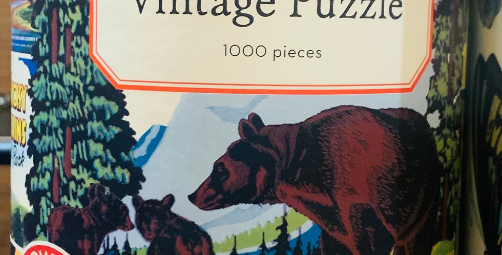 Puzzle - National parks