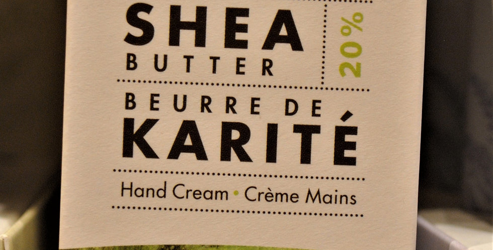 Shea butter hand cream - Verbena