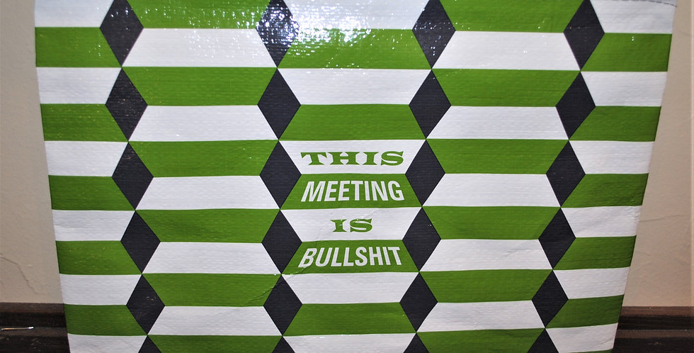 Zipper pouch - This meeting is bullshit