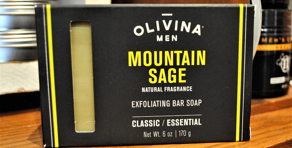 Bar soap - Mountain sage