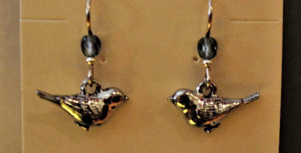 Earrings - birds