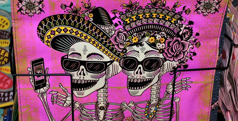 Shopping tote - Day of the dead