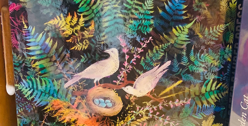 Puzzle - Birds in fern