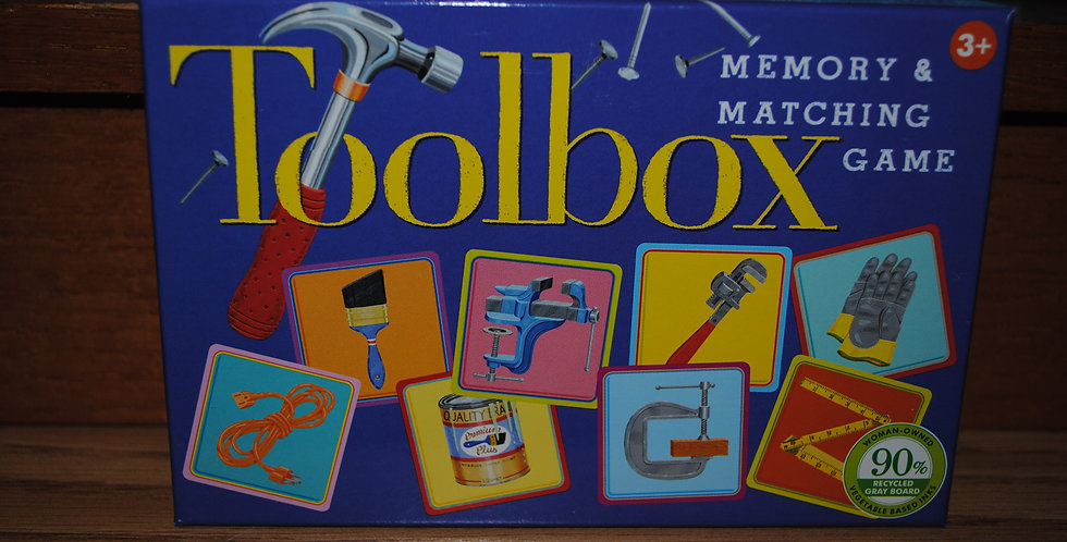 Toolbox Memory Matching game