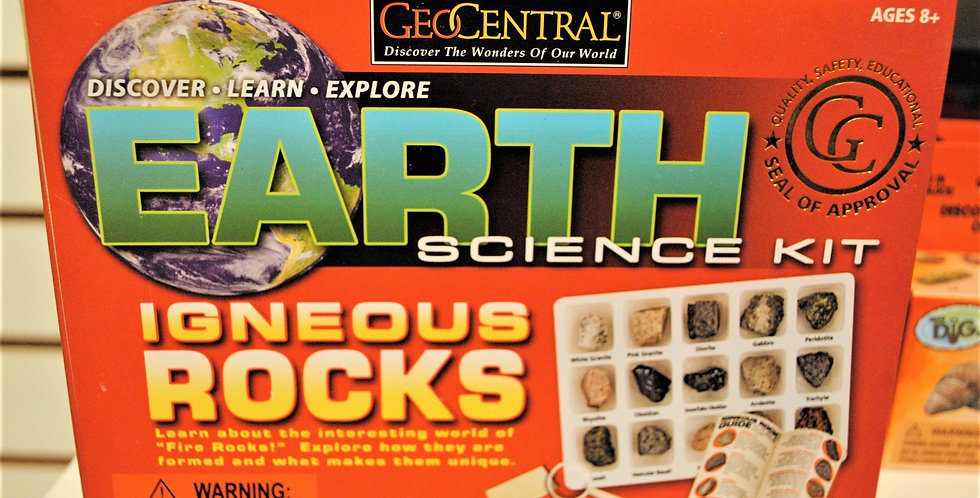 Earth Science kit - Igneous rocks
