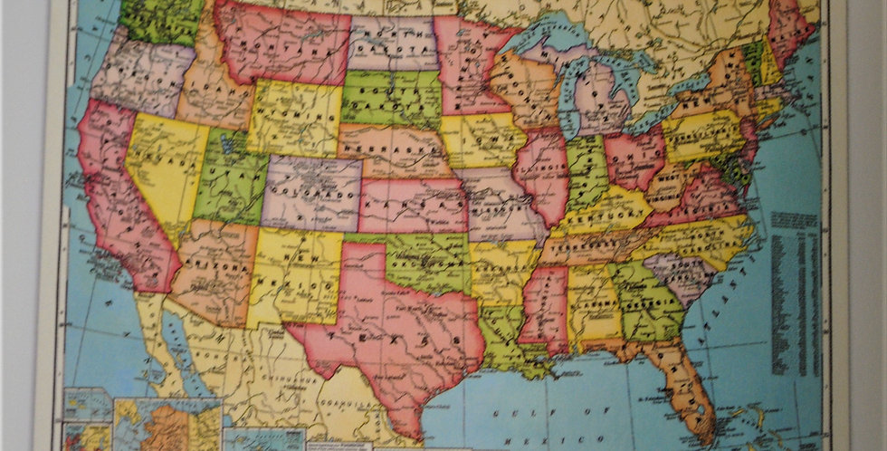 Vintage School Maps