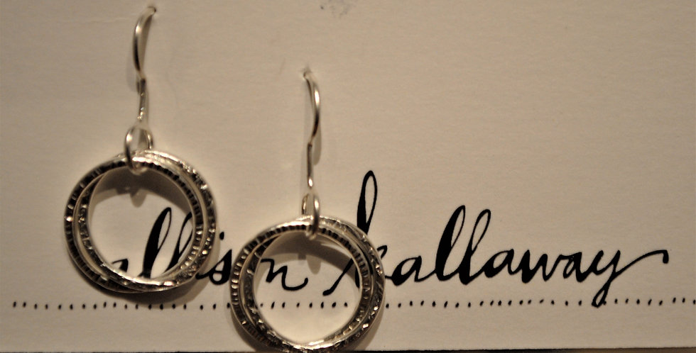 Earrings - Multi ring dangle
