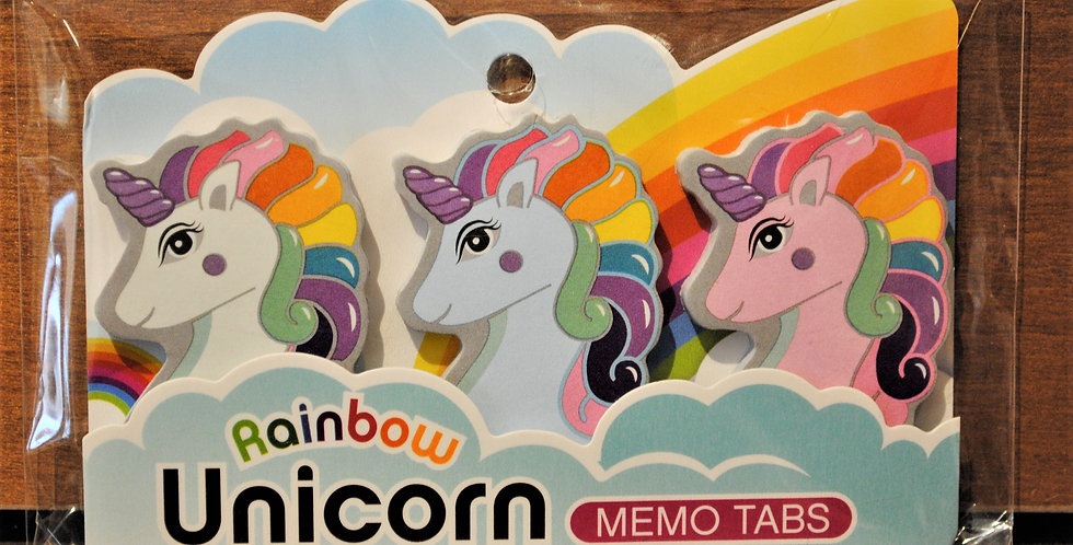 Memo tabs - Unicorn