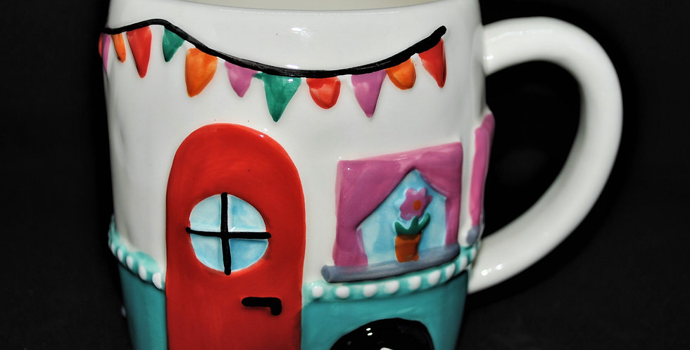 This is my happy place ceramic mug