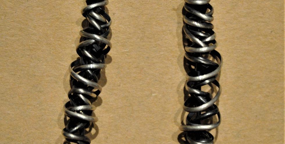 Earrings - Amethyst dangle