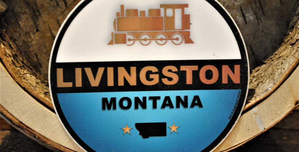 Sticker - Livingston train