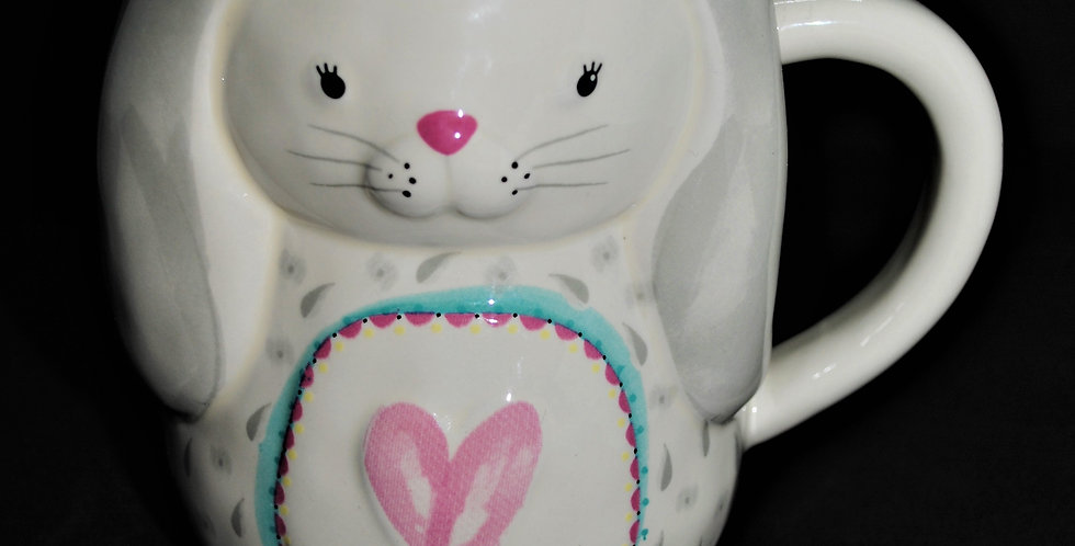 Some bunny loves you ceramic mug