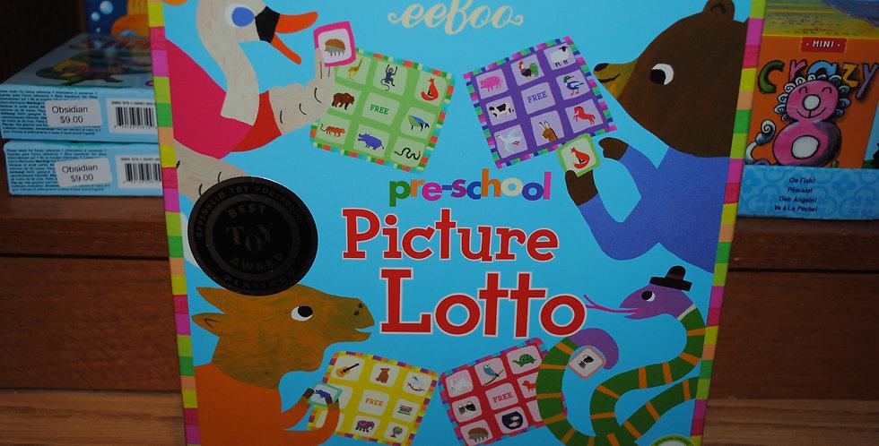 Pre-school Picture Lotto game