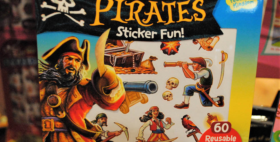 Sticker fun - Pirates