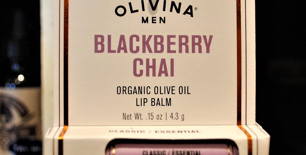 Lip balm blackberry chai