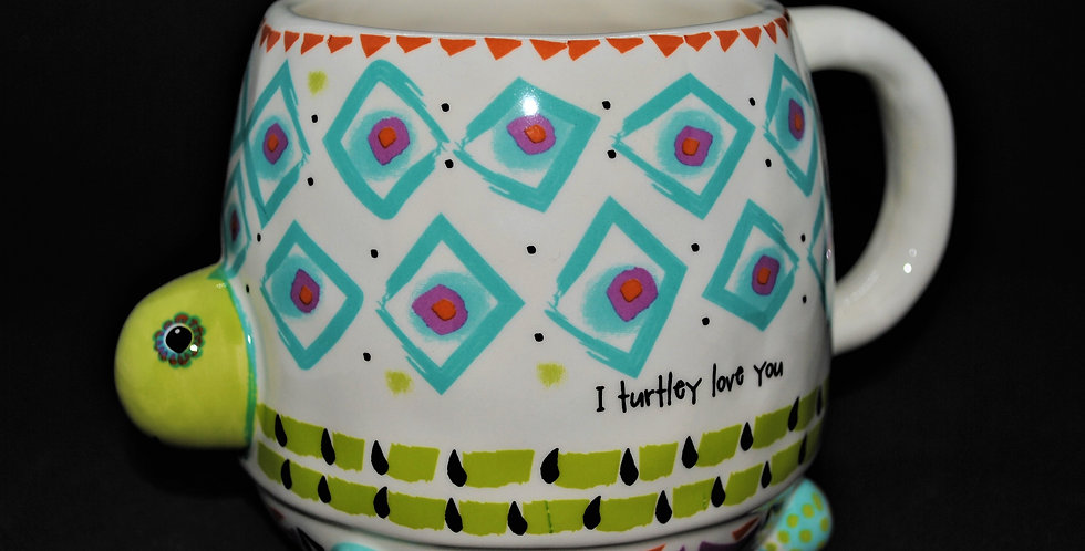 I turtley love you ceramic mug