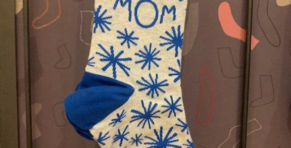 Atomic Mom womens crew sock