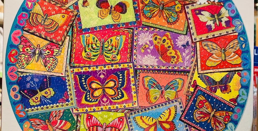 Puzzle - Vintage butterflies